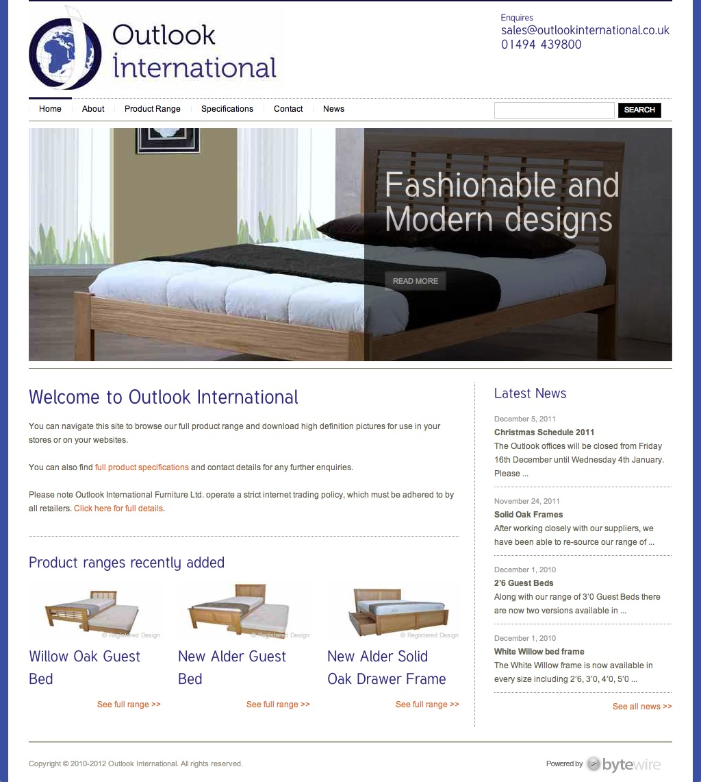 outlook home Outlook International
