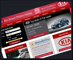 ken brown motors services placeholder Custom Kia Dealer Websites