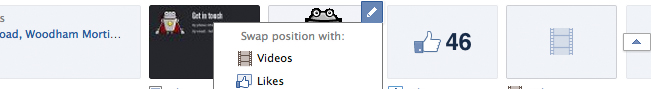 Preview - Facebook: Ordering custom tabs