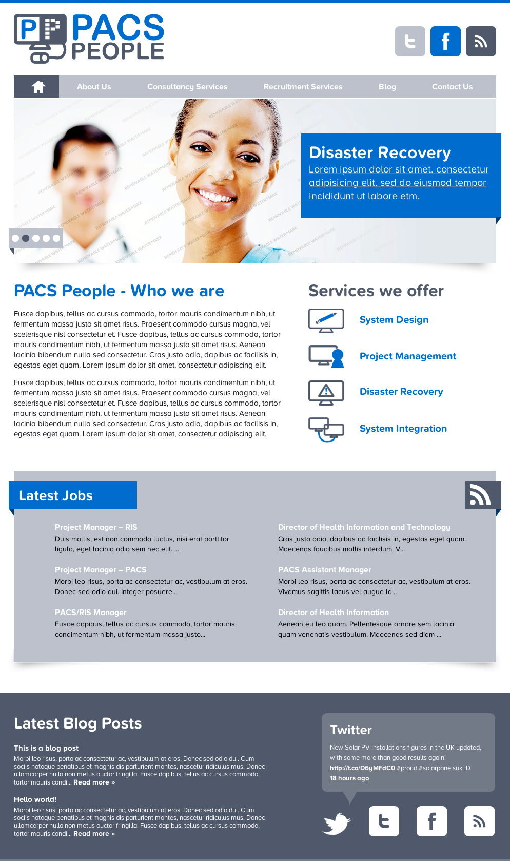 pacs home PACS People