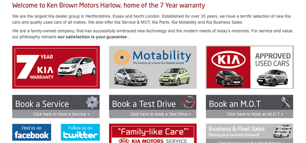 Kia Ken Brown Motors Screenshot 2