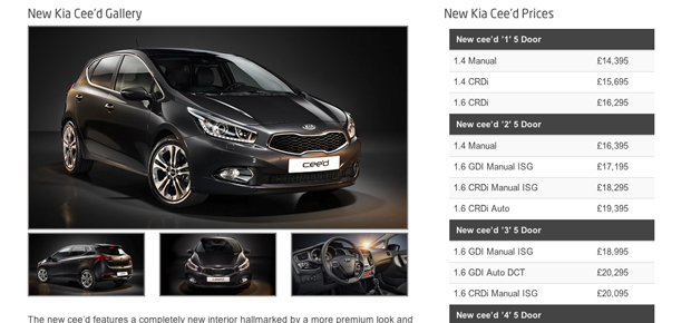 Kia Ken Brown Motors Harlow Screenshot 7