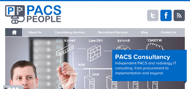PACS People Website Screenshot 1